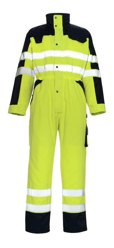 MASCOT® Riva - hi-vis geel/marine* - Winteroverall