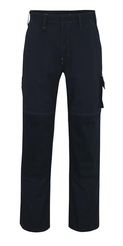 MASCOT® Riverside - donkermarine - Werkbroek met kniezakken, hoge slijtvastheid