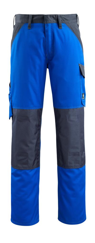 MASCOT® Temora - korenblauw/donkermarine - Werkbroek met kniezakken, lichtgewicht