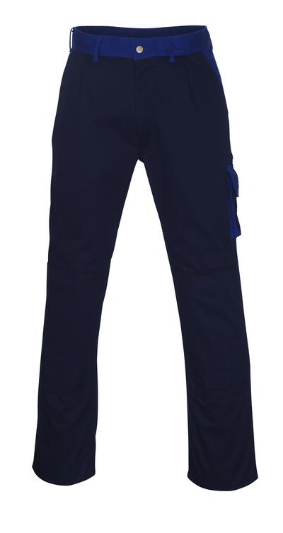 MASCOT® Torino - marine/korenblauw - Werkbroek met kniezakken, hoge slijtvastheid