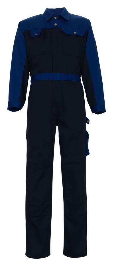 MASCOT® Verona - marine/korenblauw - Overall met kniezakken, hoge slijtvastheid