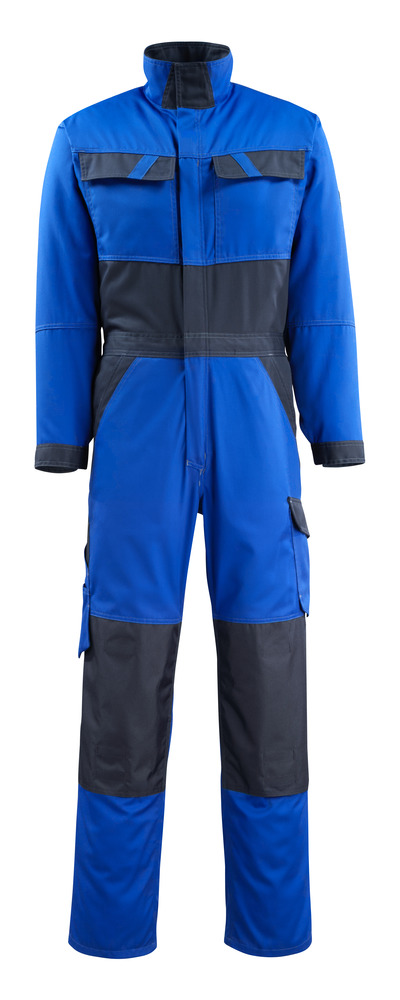 MASCOT® Wallan - korenblauw/donkermarine - Overall met kniezakken, lichtgewicht
