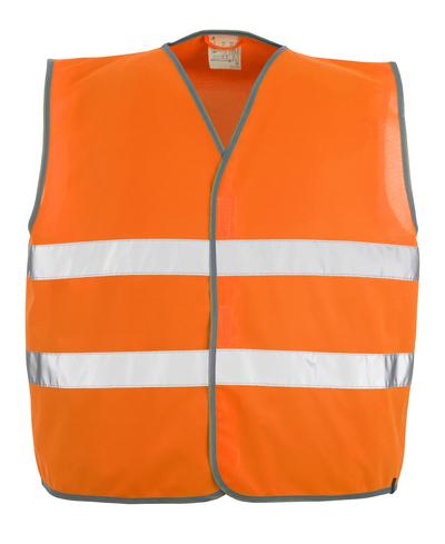 MASCOT® Weyburn - hi-vis oranje - Veiligheidshesje met klittenbandsluiting, klasse 2